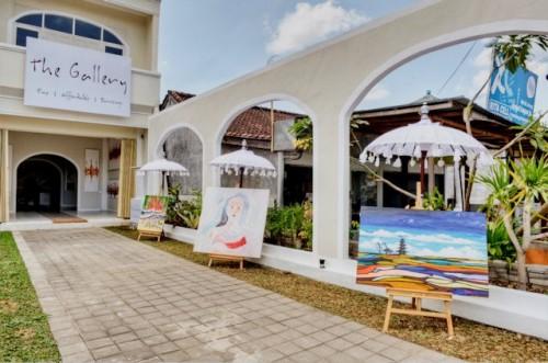 Vente société de galeries de peinture à Bali, Indonésie