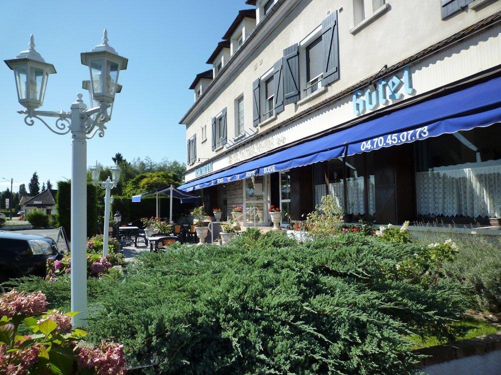 Fonds de commerce Hôtel restaurant à vendre Allier, entre Vichy et Moulins