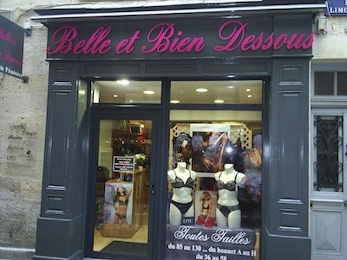Fonds de commerce lingerie Périgueux centre