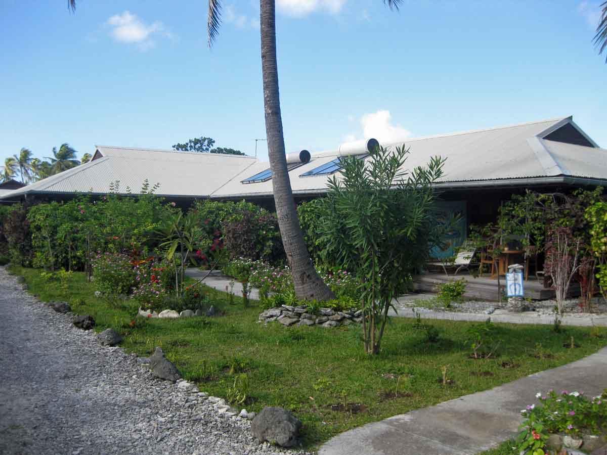 Pension à vendre en Polynésie : extérieur