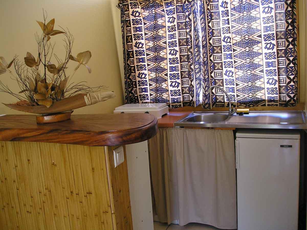 Pension à vendre en Polynésie : kitchenette
