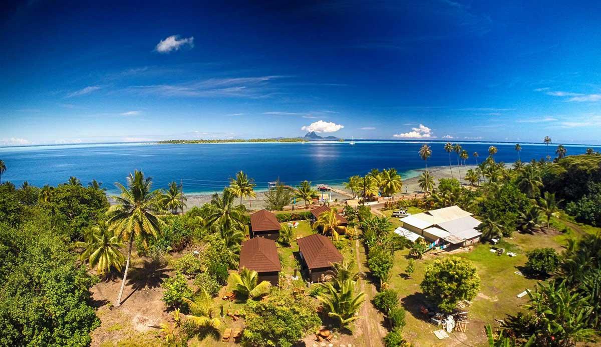 Fonds de commerce Pension de famille à vendre en Polynésie Française (Tahaa)