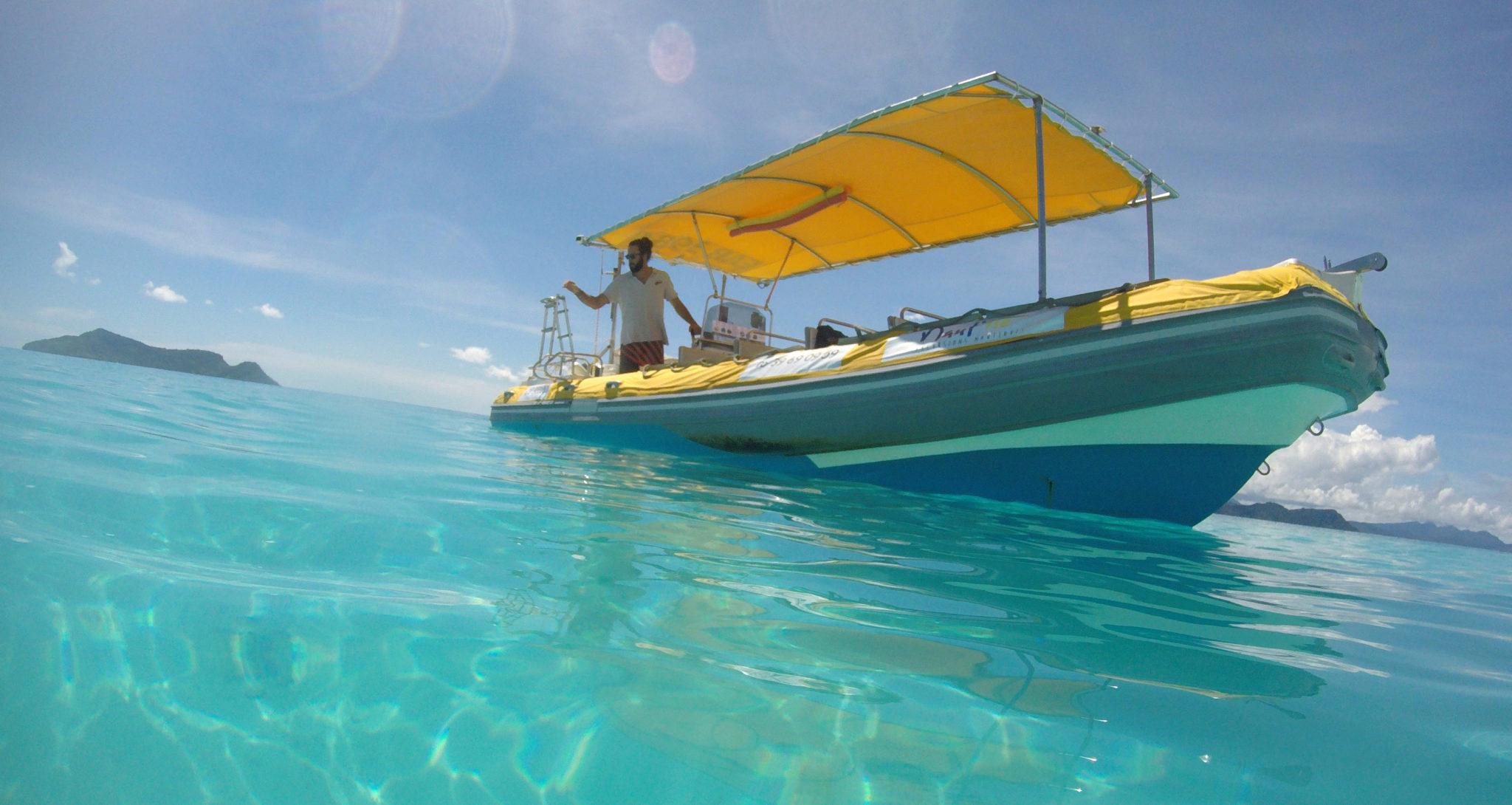Entreprise à vendre : Excursions nautiques sur le lagon de Mayotte