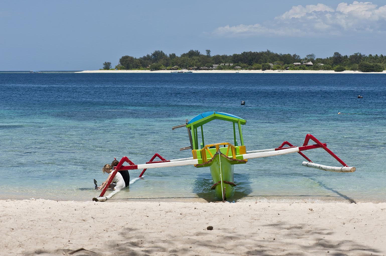 Propriété touristique à vendre en Indonésie (Gili Meno)
