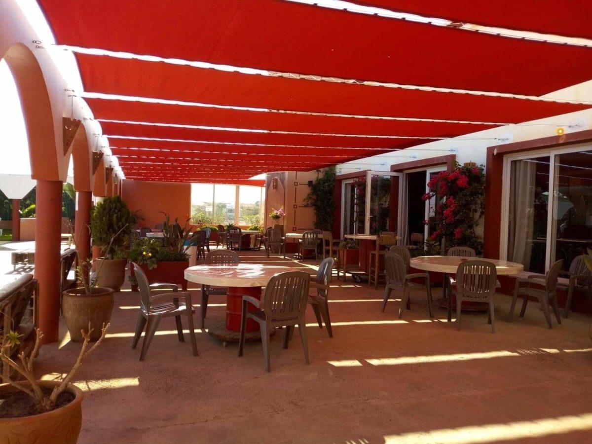 Restaurant du camping à vendre près d'Agadir au Maroc