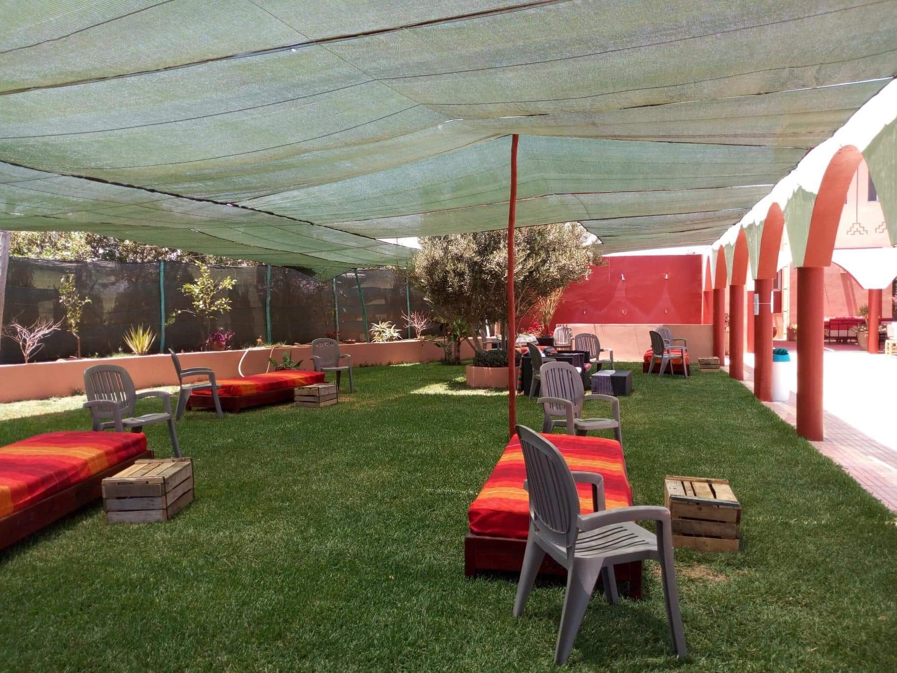 Camping avec piscine et restaurant à vendre au Maroc (Agadir)